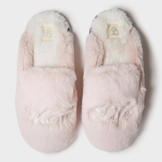mom life slippers