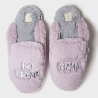 no drama mama slippers